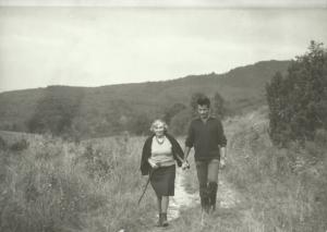 maria-kownacka-z-boleslawem-faronem-w-bieszczadach-wrzesien-1969