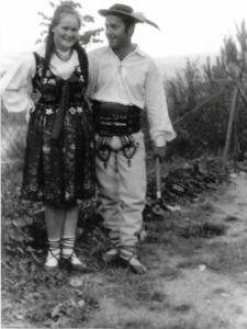 Maria Zasadna i Józef Janiczak